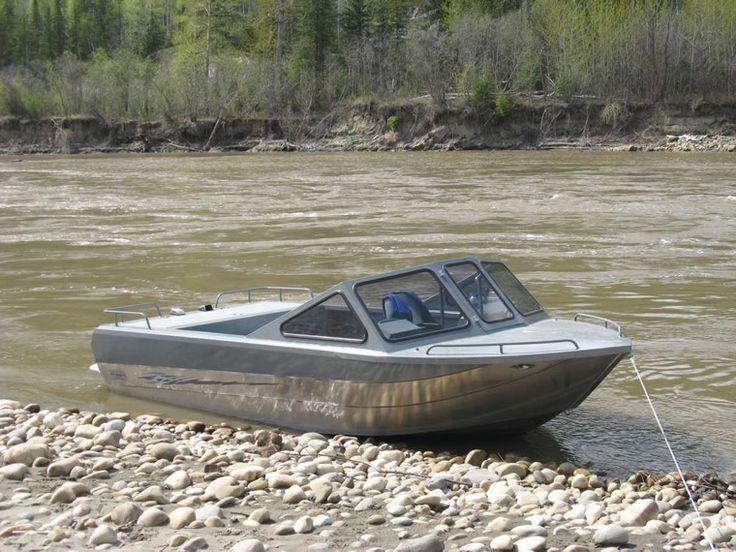 18 foot Expedition EXwelding aluminum jet boat