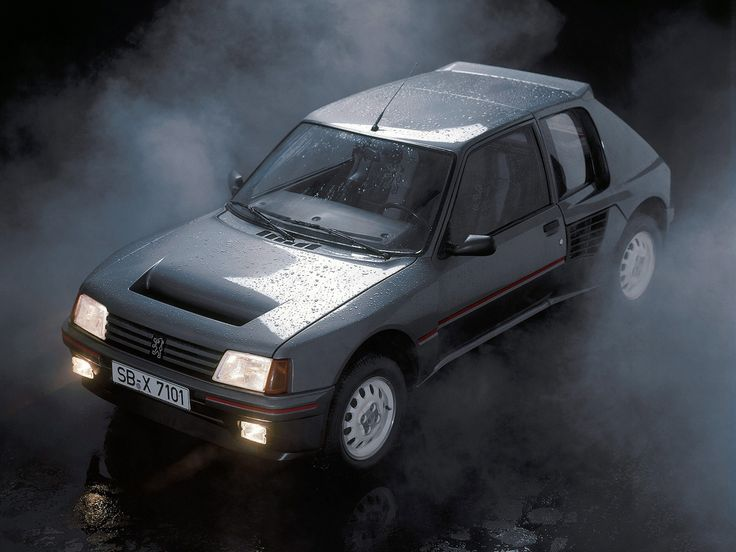 Always loved this one: Peugeot 205 T16