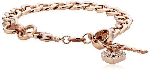 Fossil Damen-Charmsarmband Edelstahl IP rosegold JF00144791 - http://schmuckhaus.online/fossil/fossil-armband-jf00144791-edelstahl-rosegold-2