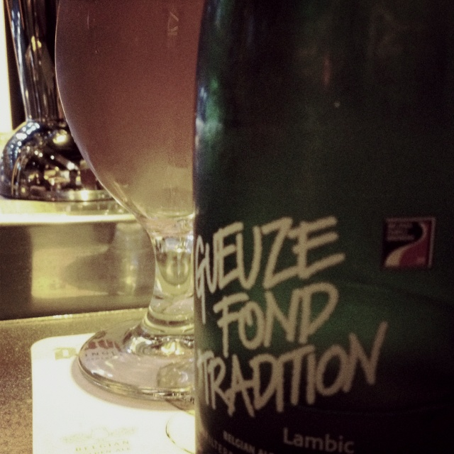 St. Louis Gueuze Fond Tradition at Mussel Bar in Revel Atlantic City