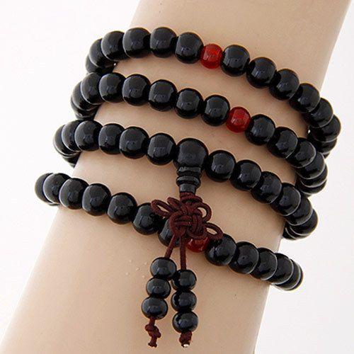 Fashion Wood Beads Buddha Bracelet Men Women 2017 Multilayer Bracelets  Bangles Pulseiras Pulseras Mujer Malas Tibet Jewelry Like if you remember Visit our store