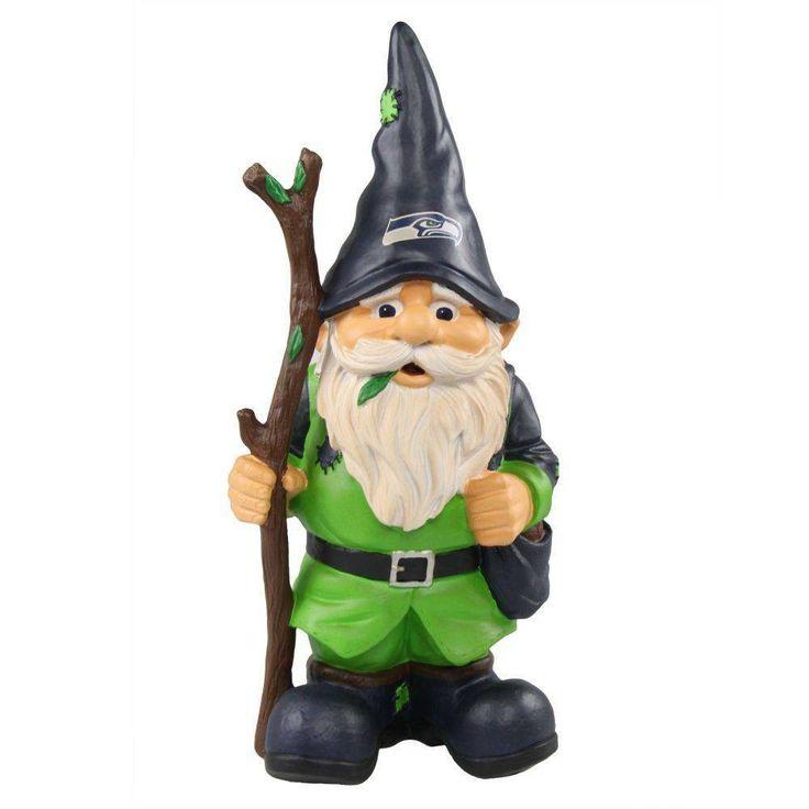 Nfl 11 5 Inch Holding Stick Gnome Gnome Statues Dallas Cowboys