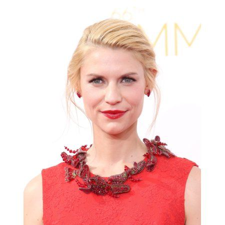 Claire Danes At Arrivals For The 66Th Primetime Emmy Awards 2014 Emmys - Part 2 Canvas Art - (16 x 20)