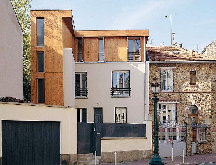23 best Extension et surélévation bois images on Pinterest House