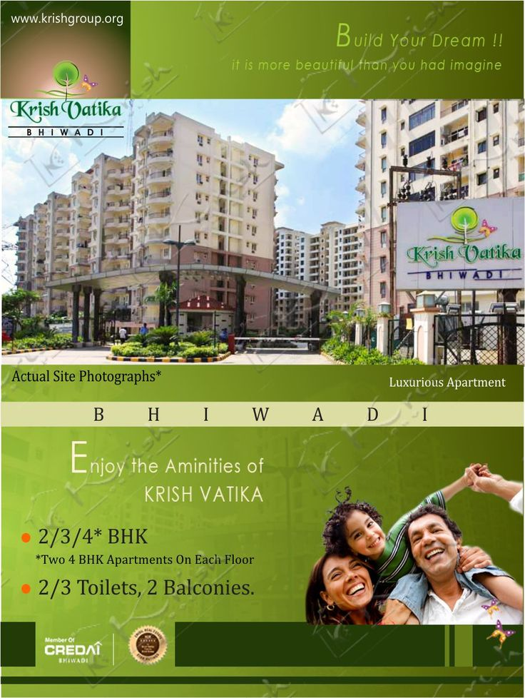 Krish Vatika Phase-I has fully equipped luxuries apartments in Affordable Prices.Krish Vatika Phase-I offers you very spacious, luxurious apartments in a Wi-Fi campus with very affordable prices. You can book your apartment Now Krish Vatika Phase-I has 2 Bedroom apartments with floor area 1345 Sqfeet (124.95 square meters) 40.35 lacs. This Project in high rises configuration.
