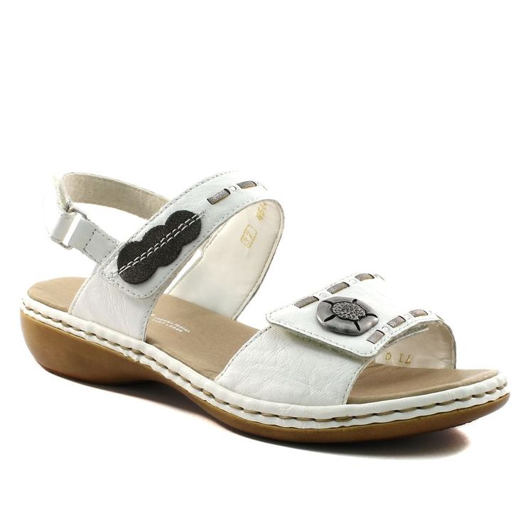 487A RIEKER MASSA SPAC 65972 BLANC www.ouistiti.shoes le spécialiste internet #chaussures #bébé, #enfant, #fille, #garcon, #junior et #femme collection printemps été 2017