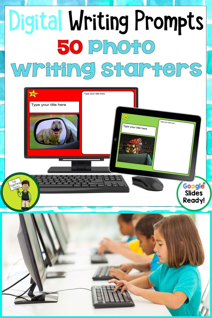 Go paperless with our Google Slides-ready photo writing prompts! Encourage independence with this easy to use writing activity pack featuring 50 photo writing prompts. This Google Resource will have your students writing photos using Google Slides in no time! Photo Writing Prompts for your digital classroom #photowriting #argument writing #photowritingprompts #digitalphotowriting #googledrive