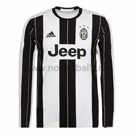Billige Fotballdrakter Juventus 2016-17 Hjemme Draktsett Langermet
