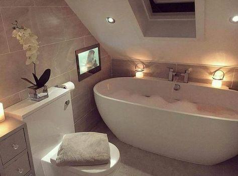 Die besten 25+ kleines Badezimmer im Dachboden Ideen auf Pinterest - badezimmer ideen dachgeschoss