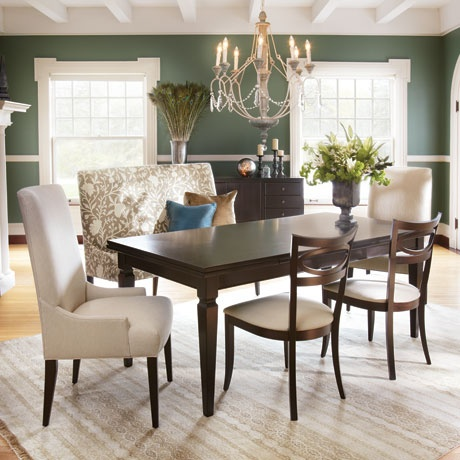54 best images about dining rooms on pinterest magnolia for Dining room tables 36 x 54