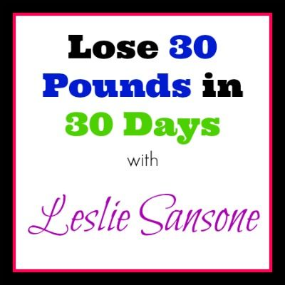 how to lose 30 pounds in 30 days diet plan