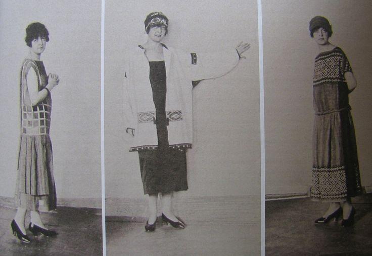 Nadezhda Lamanova's dresses exhibited at the 1925 Arts Decoratifs fair in Paris (From Djurdja Barlett's FashionEast: The spectre...