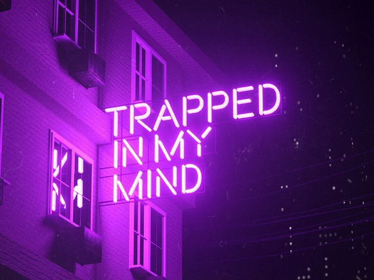Trapped In My Mind In 2020 Purple Aesthetic Purple Wallpaper