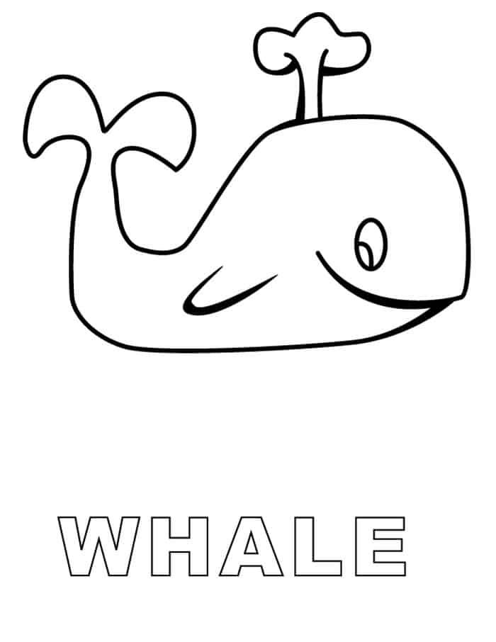 Coloring Pages Of A Cartoon Whale From Jonah And The Whale Whale Coloring Pages Shark Coloring Pages Abc Coloring Pages