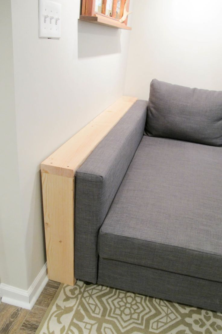 Diy Behind The Sofa Table Shelf This