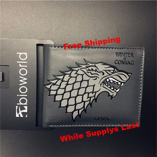 Game of Thrones Bi-Fold wallets hold up to 3 Card in each wallet