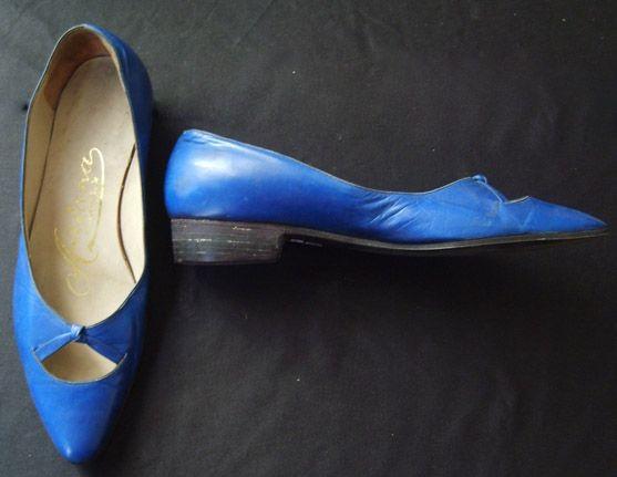 Par de zaptas / Shoes C. 1980