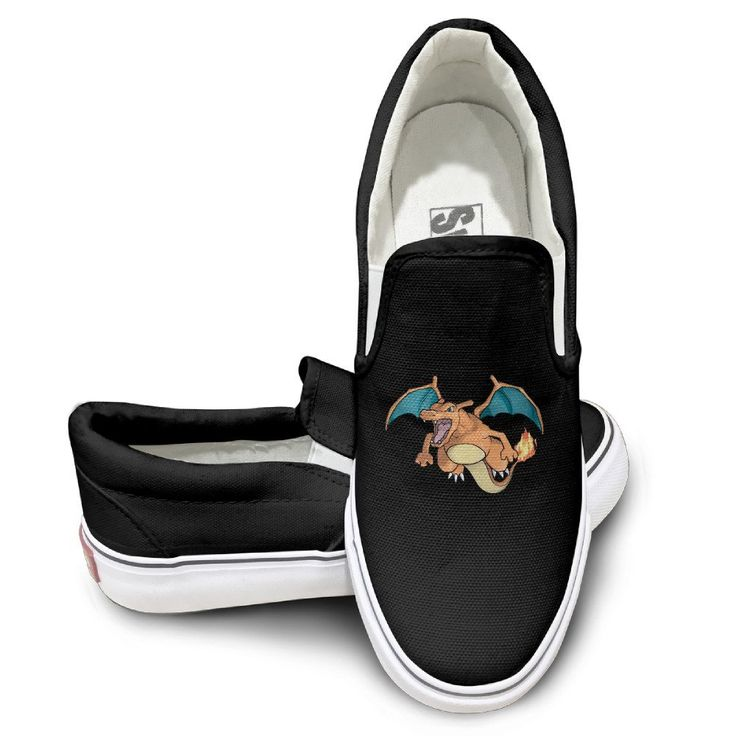 Custom Men's and Women's Custom Fire Poke Casual Shoes Black ** Unbelievable product right here! : Air Lounges