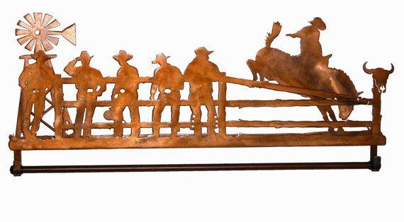 cowboy quilt hangar