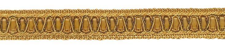 6 Yard Value Pack of Vintage 1 Inch (2.5cm) Wide Medium and light Gold Gimp Braid Trim - Style# 100HG, Color: Golden Rays 4875 (18 Ft / 6.5M)