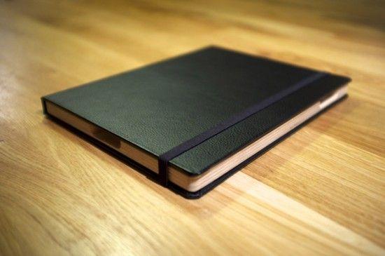 """The French Cover - un étui pour iPad 2 à la façon """"Moleskine""""..."""