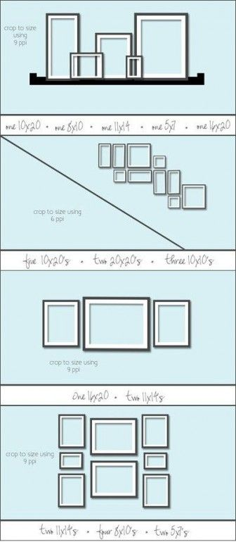 Gallery Wall Plans