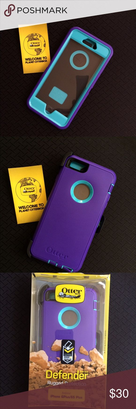 iPhone 6 Plus Otterbox Defender Case Otter-box  For 6 & 6S   ✅ ✅Please read before buying! ✅ Next Day Shipping !! ✅Only for iPhone 6 & 6S  ❌Not iPhone Plus & 6S Plus    Customer service is my main goal, I am always willing to make my customer happy if a problem arises. Thank you.  Otter Box Certified Drop+ Protection  you can be sure your device is protected from the wear and tear of everyday use. OtterBox Accessories
