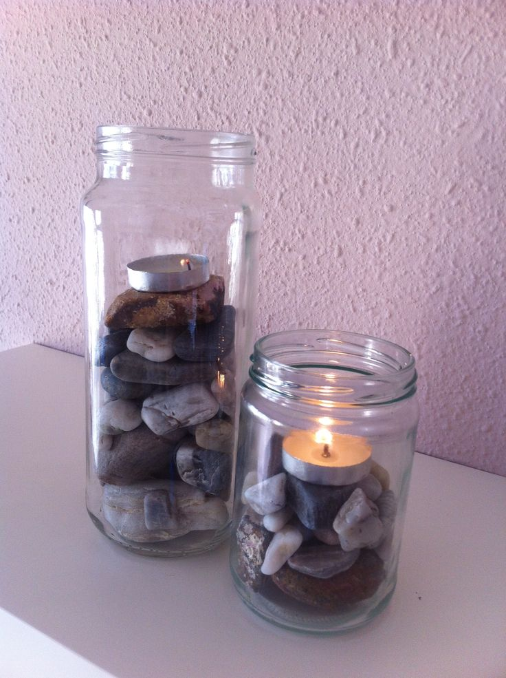 how to clean empty candle jars