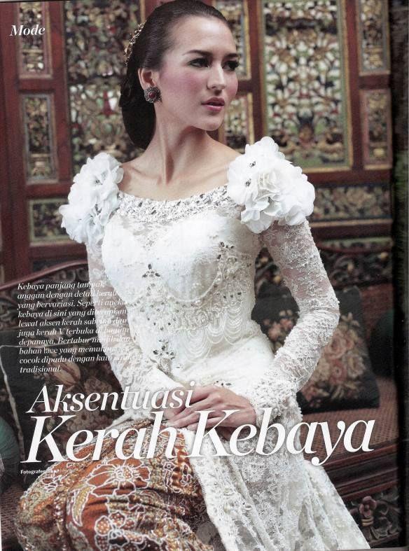 bridal gown_kebaya modern