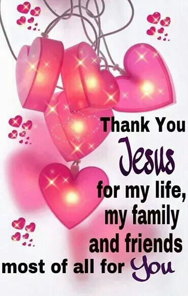 You light up my heart Jesus! Thank you for my life, my family and friends! But most of all for You Lord!