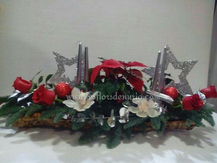 Decoracion de mesa Navidad