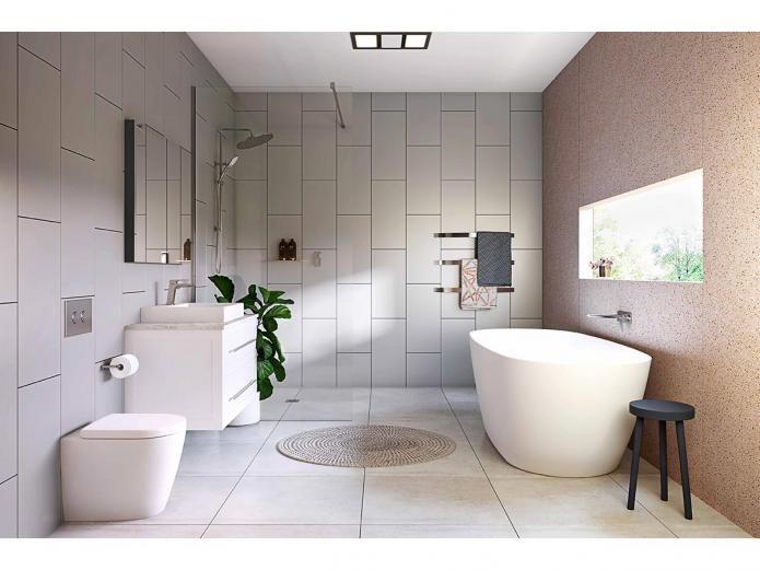 Kado Lux 1750 Freestanding Oval Bath White Home Ideas