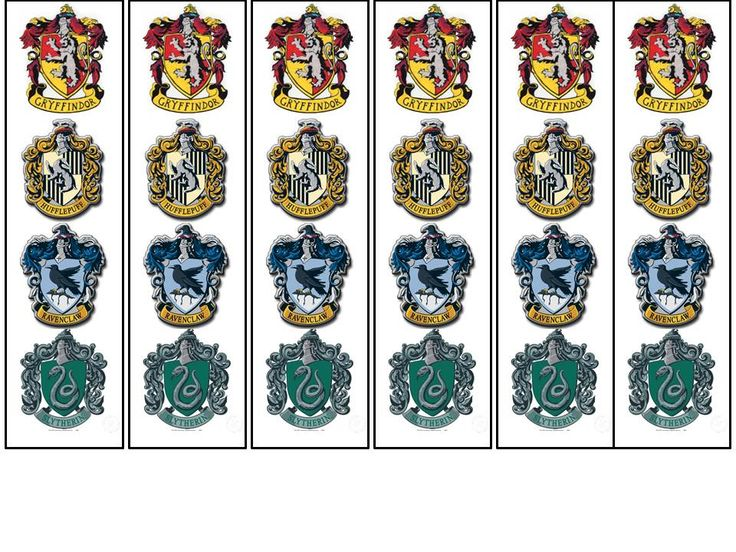 Hogwarts Bookmarks.  If interested in a free printable, please contact me.  Logos were upoaded from the internet.  Simple idea.