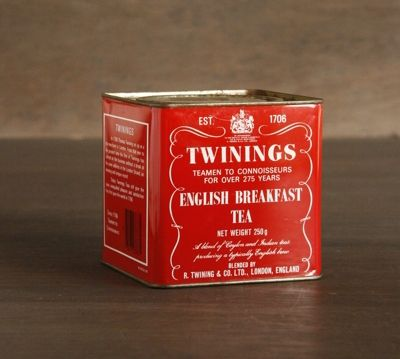 Twinings, Tea, Pack, Tin, Design, Classics