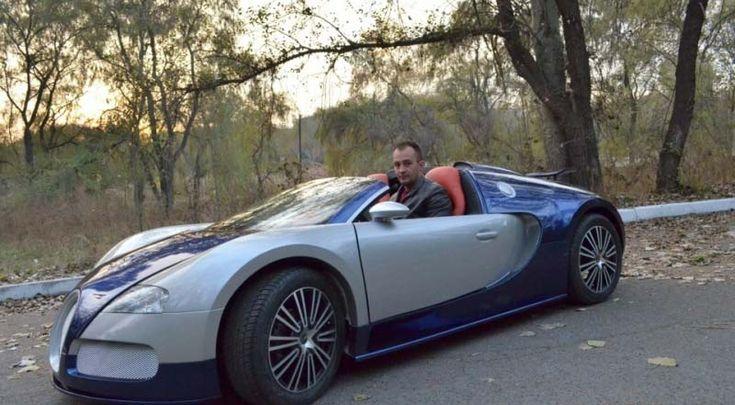 Bugatti veyron replica with doors bugatti