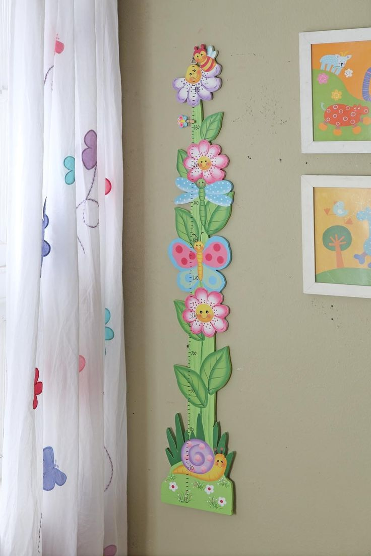 Teamson Kids Magic Garden Girls' Growth Chart | Wayfair
