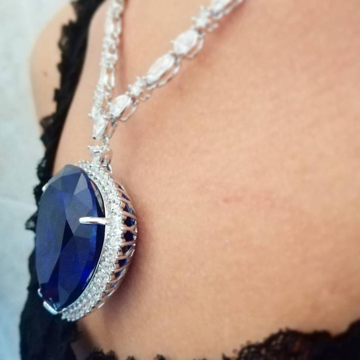 Ocean Heart Necklace Titanic Rose pendant heart   Etsy in 2020   Pendant, Heart necklace ...