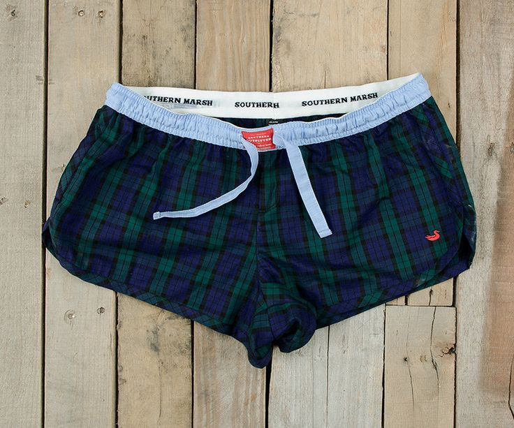 Southern Marsh Collection — Chandler Lounge Short - Tartan by Southern Marsh size L