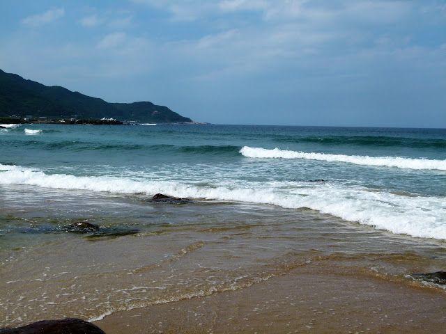 Babel School in Taiwan: Tajwańska plaża Złote Piaski