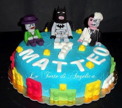 Emozioni in torte- Le torte di Angelica: Batman,Joker e 2facce Lego