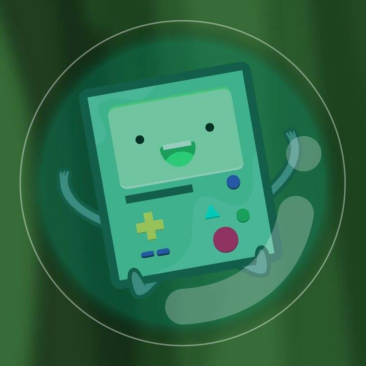 Beemo and Bubble :) Adventure Time
