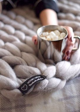 Woolly Cloud Blanket - the Softest Blanket You'll Ever Touch! 100% Merino Wool.