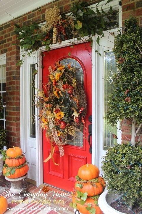 25 best ideas about Fall front porches on Pinterest