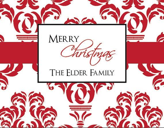 Family Christmas Card - Stationary - Christmas Card - Christmas Stationary - Family Stationary