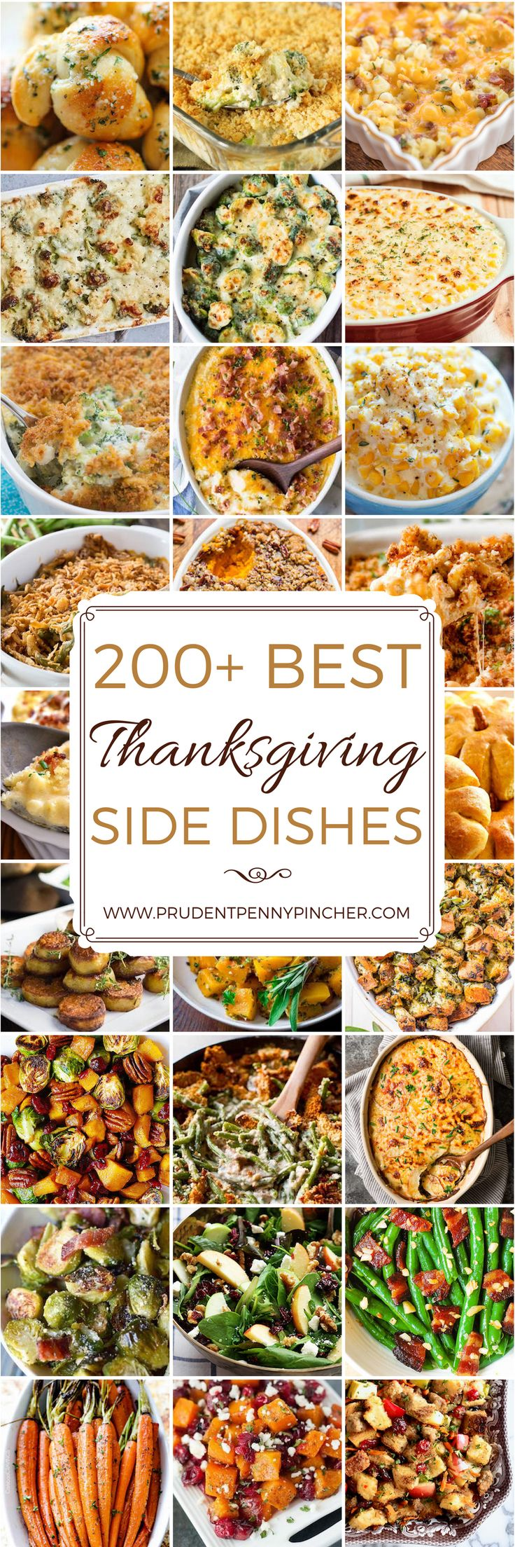 200 Best Thanksgiving Recipes for Side Dishes