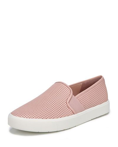 6b9ab2eea9117 VINCE BLAIR 5 PERFORATED SLIP-ON SNEAKER.  vince  shoes