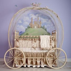 princessIdeas, Little Girls, Nurseries, Baby Beds, A Little Princesses, Future Baby, Baby Girls, Fairies Tales, Baby Cribs