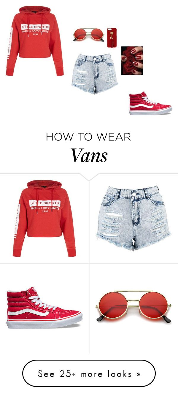 """#stylesportie"" by polyvorelover2233 on Polyvore featuring New Look, Boohoo, Vans, ZeroUV and Henri Bendel"
