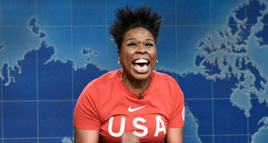 Leslie Jones Brings Olympian Hilary Knight to SNL  Watch!
