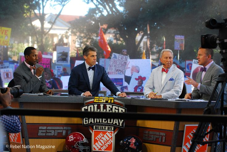 ESPN College Gameday crew